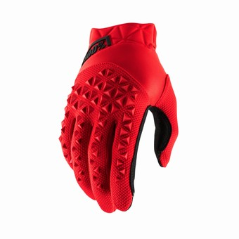 AIRMATIC Youth Gloves Red/Black