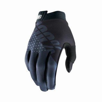 iTRACK Youth Gloves Black/Charcoal