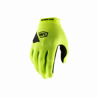 RIDECAMP Gloves Fluo Yellow