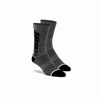 RYTHYM Merino Wool Performance Socks Charcoal Heather