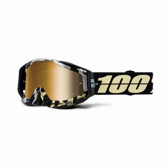 RACECRAFT Goggle Ergoflash - Mirror True Gold Lens