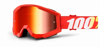 STRATA Goggle Furnace - Mirror Red Lens