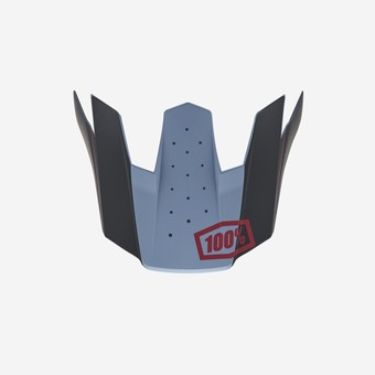 TRAJECTA Replacement Visor Slate Blue