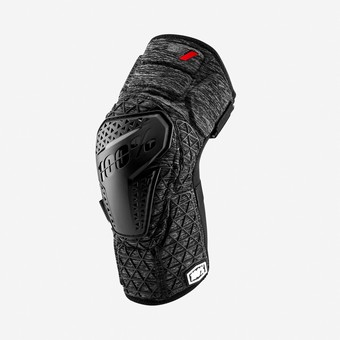 SURPASS Knee Guards Grey Heather/Black