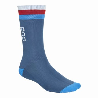 Essential Strong Long Sock Cubane Multi Blue