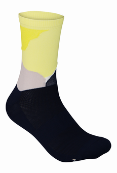 Essential Print Sock Color Splashes Multi Sulfur Yellow