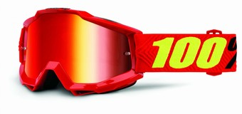50210-203-02-ACCURI Goggle Saarinen - Mirror Red Lens