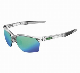 61020-253-45-SPORTCOUPE - Polished Translucent Crystal Grey - Green Multilayer Mirror Lens