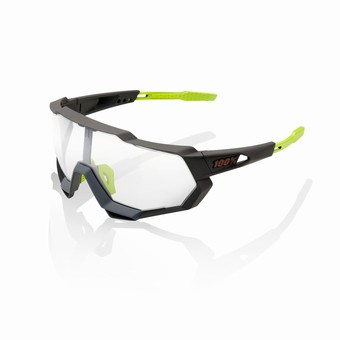 61023-188-77-SPEEDTRAP - Soft Tact Cool Grey - Photochromic Lens