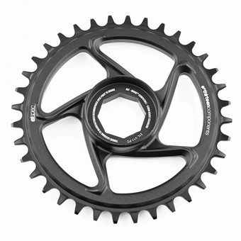 CR4UPA-103-e*thirteen | e*spec Aluminum Direct Mount Chainring | 34T | Brose S Mag | Black