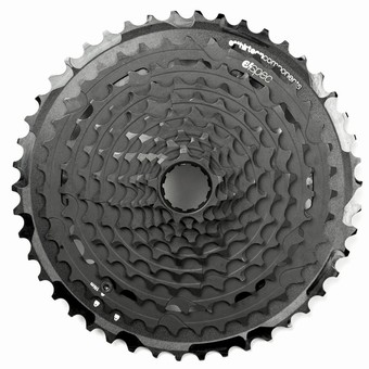 FW2TPA-101-e*thirteen | TRS Plus Cassette | 9-46T | 11 Speed | Black