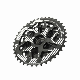 FW2XPA-101-e*thirteen | XCX Plus Cassette | 9-39T | 11 Speed | Black