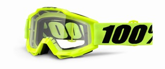 ACCURI Goggle Fluo Yellow - Clear Lens