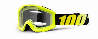STRATA JR Goggle Neon Yellow - Clear Lens