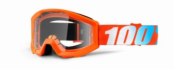 STRATA JR Goggle Orange - Clear Lens